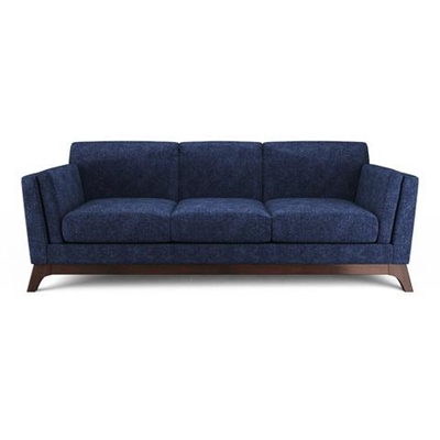 John 3 Seater Sofa Denim Blue by Brosa, a Sofas for sale on Style Sourcebook