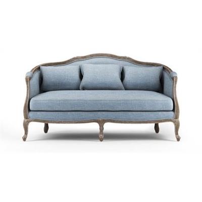 Provence 3 Seater Sofa Heron Grey