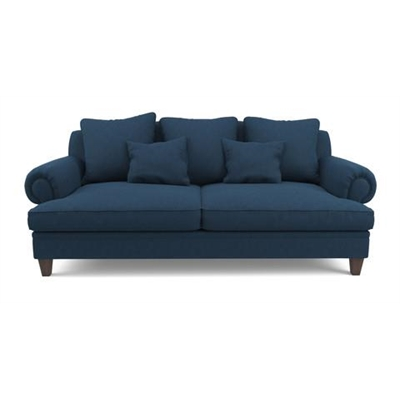Mila 3 Seater Sofa Atlantic Blue by Brosa, a Sofas for sale on Style Sourcebook