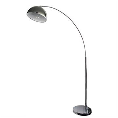 Dome Metal Arc Floor Lamp, Chrome by Oriel Lighting, a Floor Lamps for sale on Style Sourcebook
