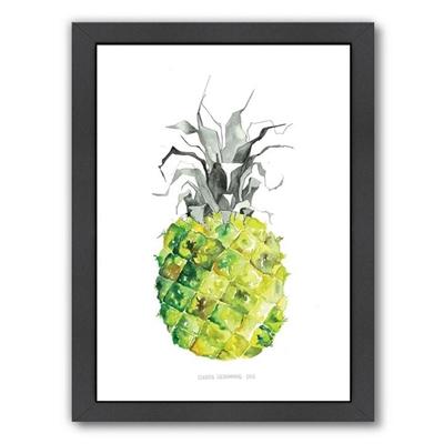 Pineapple Yellow Print Art