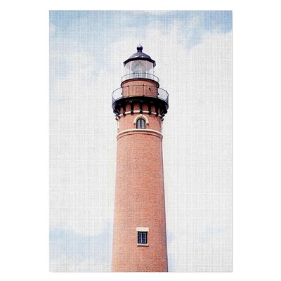 Brick Lighthouse Print Art by Americanflat, a Prints for sale on Style Sourcebook