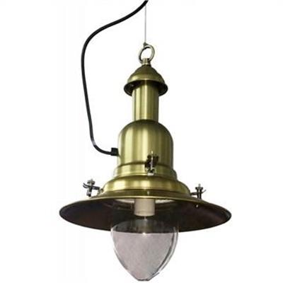 Haiger Aluminium Nautical Pendant Light - Bronze