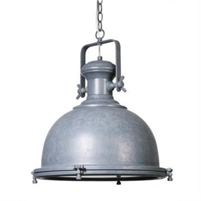 Gaia Industrial Steel Pendant Light