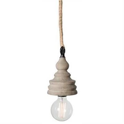 Kasey Solid Timber Pendant Light