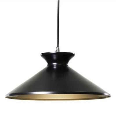 Bengta Metal Pendant Light - Black
