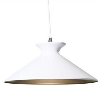 Bengta Metal Pendant Light - White