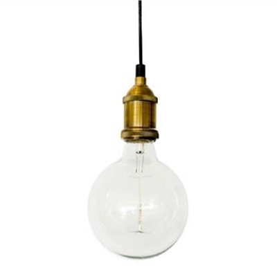 Jamison Industrial Bare Pendant Fitting - Brass by Laputa Lighting, a Pendant Lighting for sale on Style Sourcebook