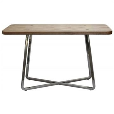 Cupio Wood and Stainless Steel Console Table by Bohem Classic, a Console Table for sale on Style Sourcebook