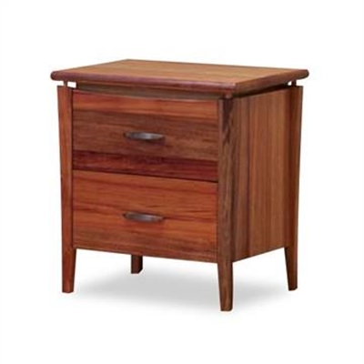 Glendale Bedside Table in Blackwood