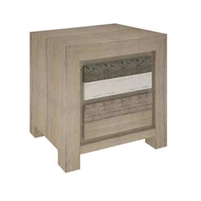 Lafite Acacia Timber Bedside Table