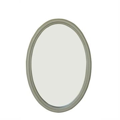 Cherilyn Solid Beech Timber Frame 80cm Oval Wall Mirror by Emporium Oggetti, a Mirrors for sale on Style Sourcebook
