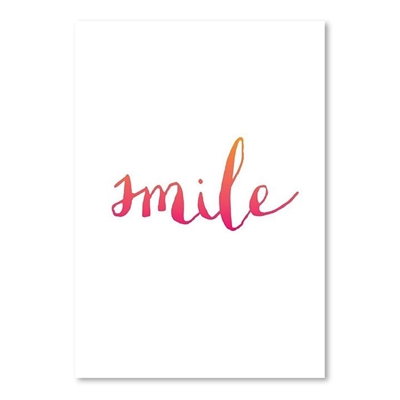 Smile Print Art