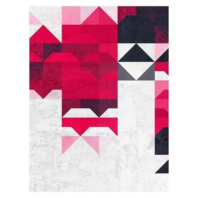 Raspberry Heart Print Art