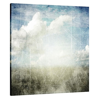 Horizon Falls Square Canvas Print by United Interiors, a Prints for sale on Style Sourcebook