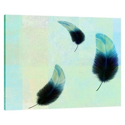 Feather Falls Landscape Canvas Print