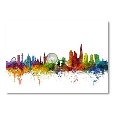London England Skyline 4 Print Art