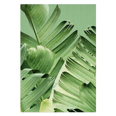 Banana Leaves Print Art