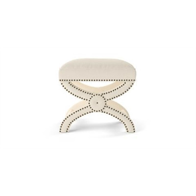 Portobello Foot Stool Classic Cream by Brosa, a Stools for sale on Style Sourcebook