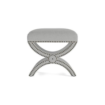 Portobello Foot Stool Cloud Grey by Brosa, a Stools for sale on Style Sourcebook