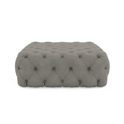 Lena Square Ottoman Stone Grey by Brosa, a Ottomans for sale on Style Sourcebook