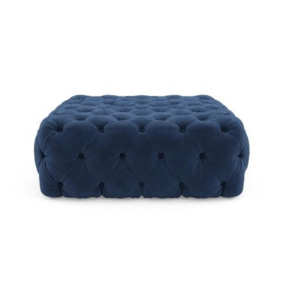 Lena Square Ottoman Ocean Blue by Brosa, a Ottomans for sale on Style Sourcebook