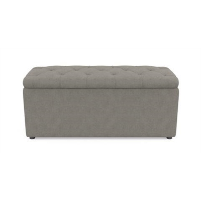 Emily Storage Ottoman Stone Grey by Brosa, a Ottomans for sale on Style Sourcebook