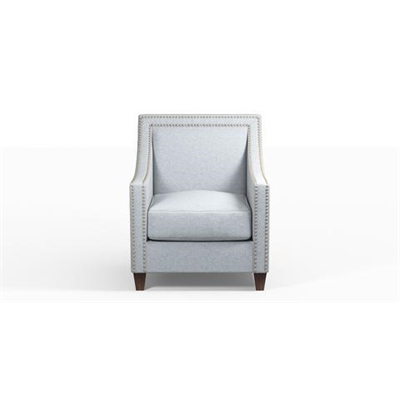 Dianna Armchair Heron Grey by Brosa, a Chairs for sale on Style Sourcebook