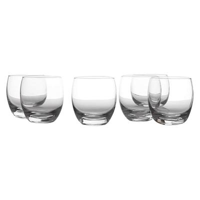 Evolve DOF Glass, 300ml (Set of 6) Clear Casa Domani