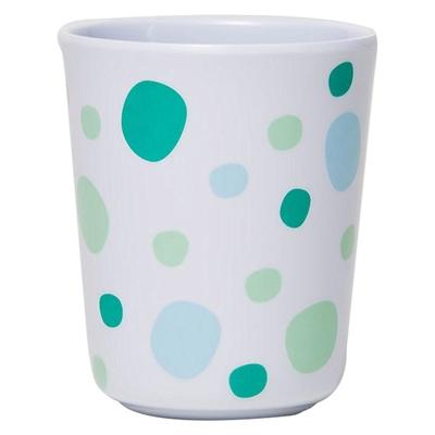 Barel Everyday Melamine Polka Dot Beaker, Green, 200ml Barel Designs