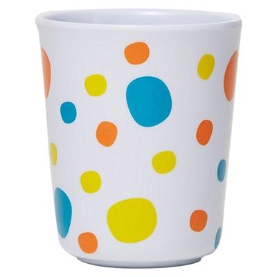 Barel Everyday Melamine Polka Dot Beaker, Yellow, 200ml Barel Designs