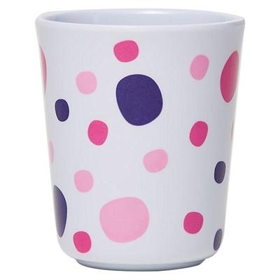 Barel Everyday Melamine Polka Dot Beaker, Pink, 200ml Barel Designs