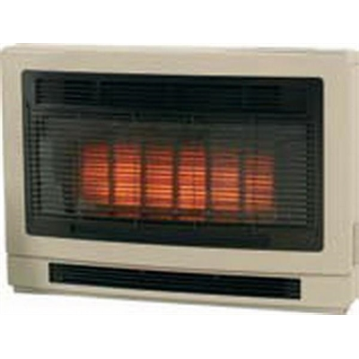 Rinnai Ultima II Flued Space Heater - ULT2CL - Beige Console - (LPG)