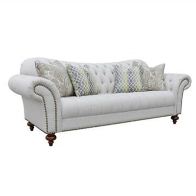 Loxley Fabric 3 Seater Sofa