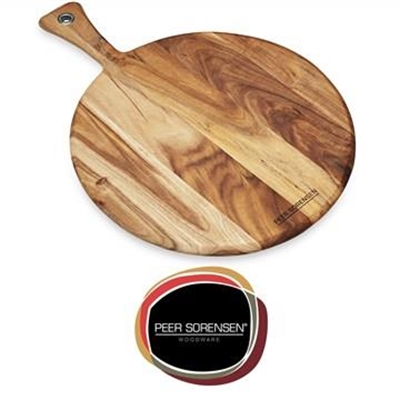 Peer Sorensen Acacia Round Paddle Serving Board, Small
