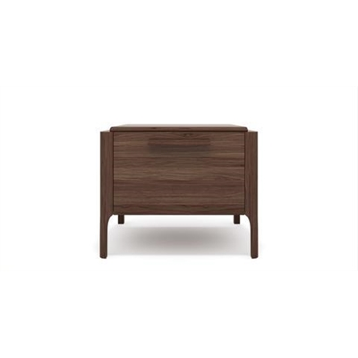 Siena Bedside Table Chocolate Brown Wood by Brosa, a Bedside Tables for sale on Style Sourcebook