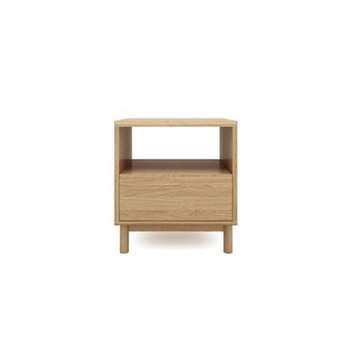 Cato Bedside Table One Drawer California Oak California Oak