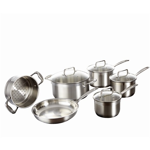 Baccarat iconiX Stainless Steel 6 Piece Cookware Set