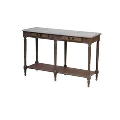 Louis XVI White Wash  Hallway Table