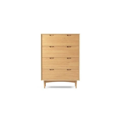 Ethan Large Chest of Drawers Scandi Oak by Brosa, a Dressers & Chests of Drawers for sale on Style Sourcebook