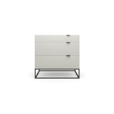 Tallinn Chest of Drawers High Gloss Beige Wood by Brosa, a Dressers & Chests of Drawers for sale on Style Sourcebook
