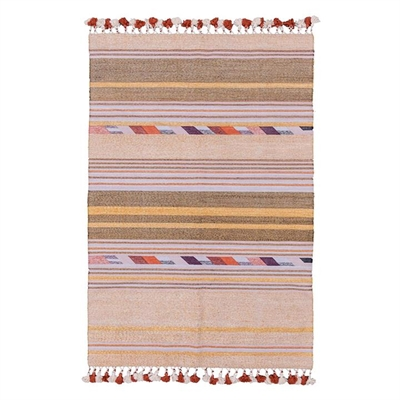 Hand Woven Flip Rug, Lilac by Amigos De Hoy, a Kids Rugs for sale on Style Sourcebook