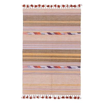 Hand Woven Flip Rug, Lilac