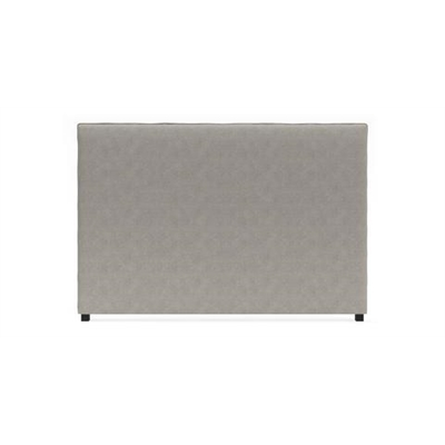 Sara King Size Bed Head Stone Grey