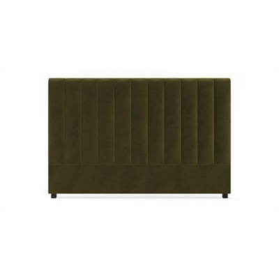 Megan King Size Bed Head Olive Green