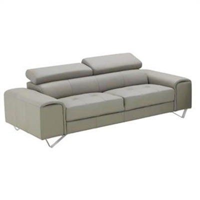 Majorca 3 Seater Leather Sofa, Sand