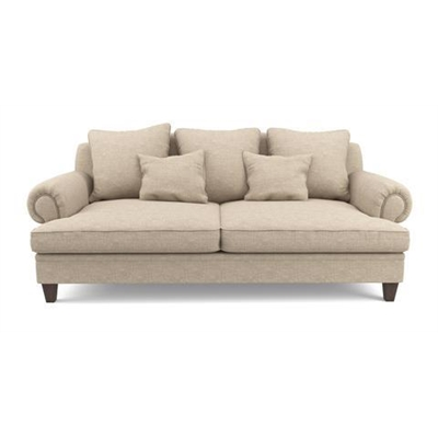 Mila 3 Seater Sofa French Beige by Brosa, a Sofas for sale on Style Sourcebook