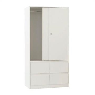 Cue Slim Wardrobe - White by EBT Furniture, a Wardrobes for sale on Style Sourcebook