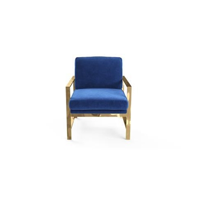Lisette Armchair Ocean Blue by Brosa, a Chairs for sale on Style Sourcebook