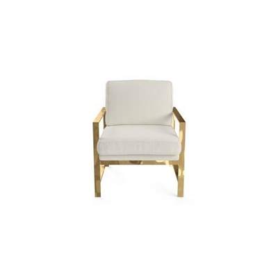 Lisette Armchair Classic Cream by Brosa, a Chairs for sale on Style Sourcebook